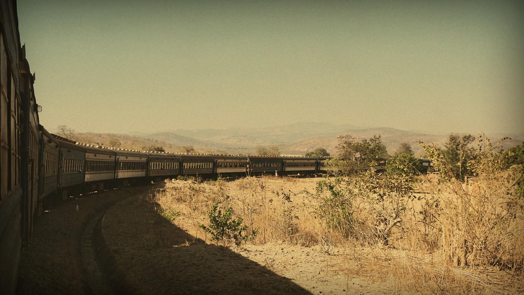 The Tazara Train Route